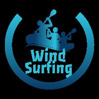 Wind Surfing Logo