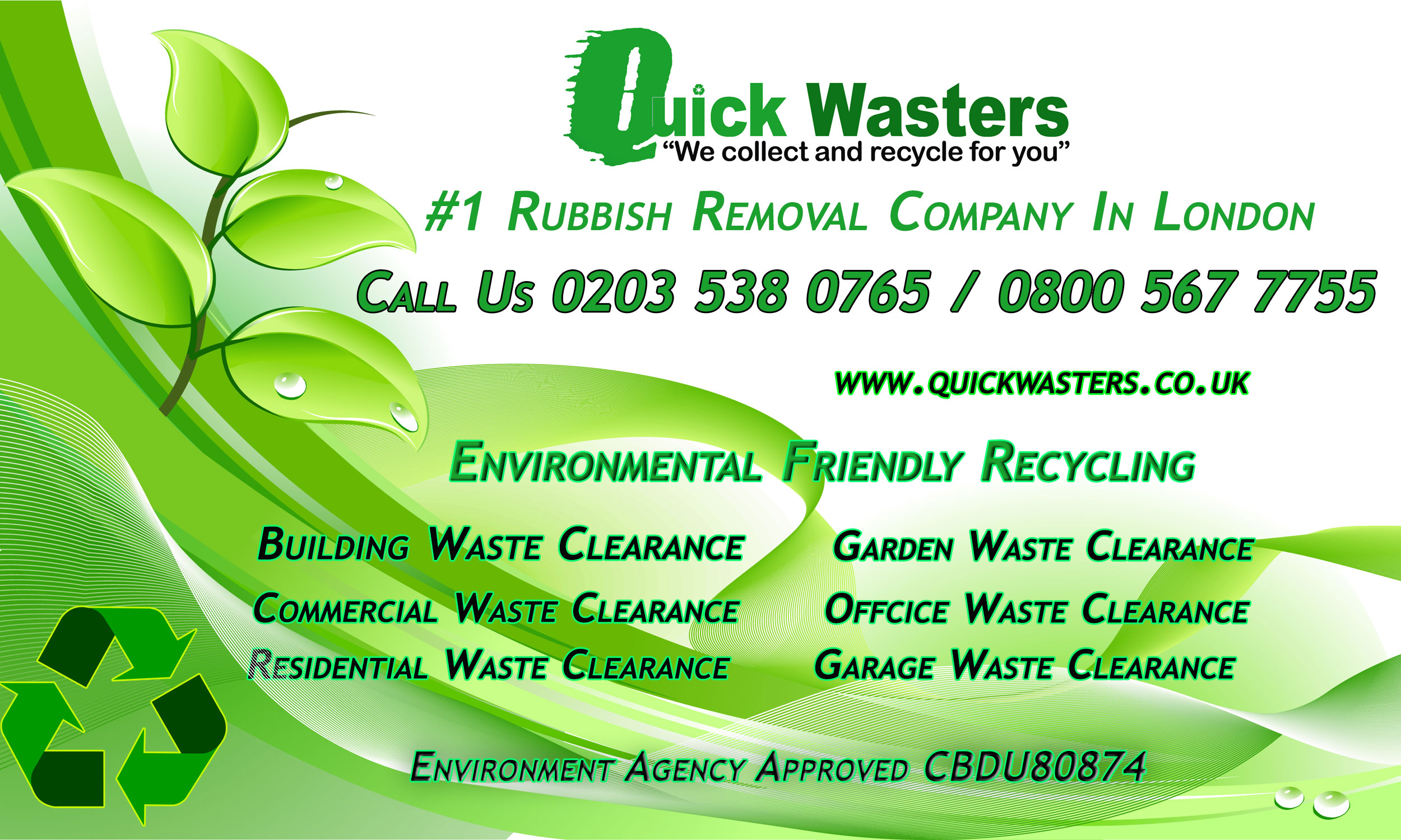 Quickwasters - Rubbish Removal London